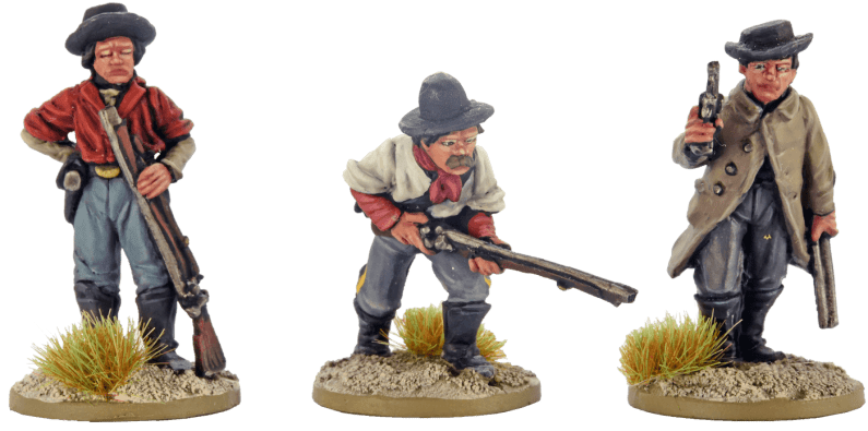 28mm Dismounted Confederate Cavalry 0