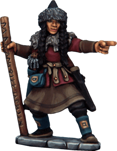Frostgrave Female Soldiers Metal 11