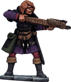 Frostgrave Female Soldiers Metal 4