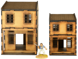MDF Asian Shop Houses 10