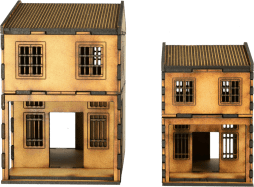MDF Asian Shop Houses 9