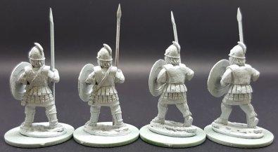 Libyan Spearmen Standing