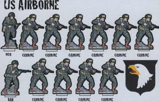 Flatpack Forces - US Airborne Front