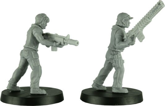 28mm Modern Female Soldiers 5
