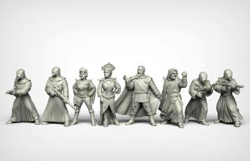 Crooked Dice Design Studio –Coming Soon: 28mm Retro Sci-fi 5