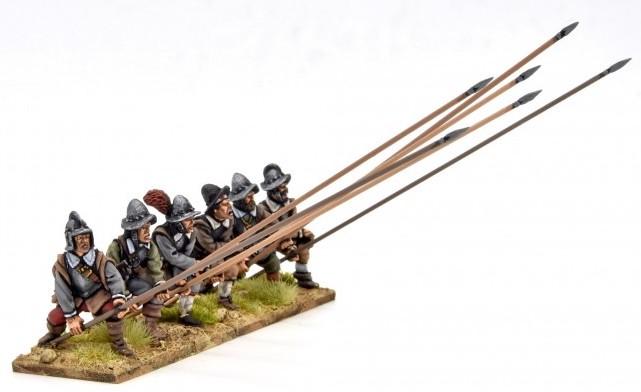 Armoured pikemen receiving cavalry TE15
