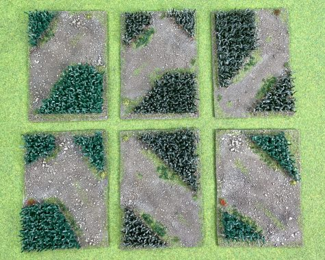 Corn Field Pieces - two shades - £15 for three