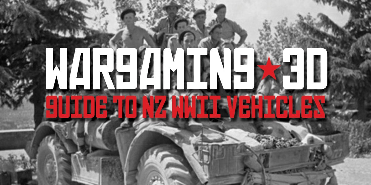 Guide to NZ WWII Vehicles