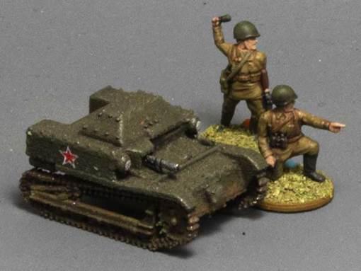 15mm T27a Tankette