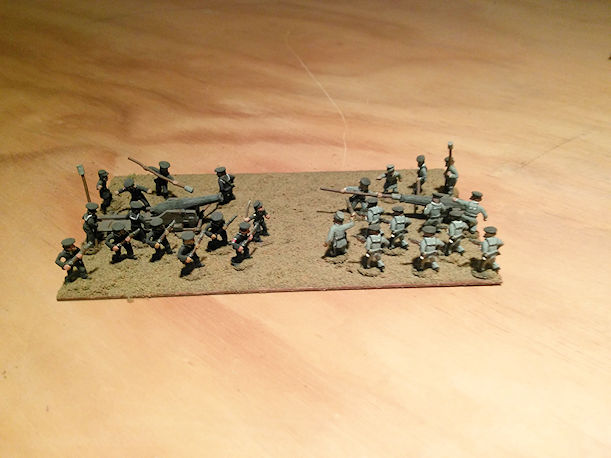 Stone Mountain Miniatures 15mm ACW Naval Artillery Crew