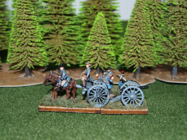 Stone Mountain Miniatures 15mm Confederate Limber & Artillery