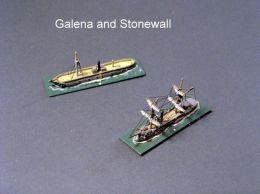 HSS55 USS Galena; HSS76 CSS Stonewall