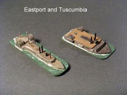 HSS46 USS Tuscumbia; HSS56 USS Eastport