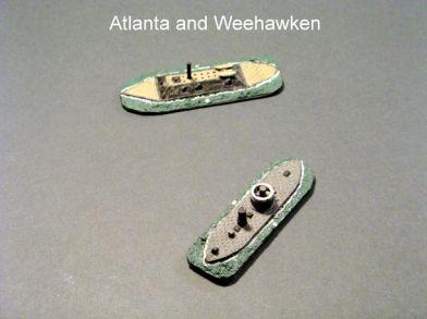 HSS39 USS Weehawken; HSS71 CSS Atlanta
