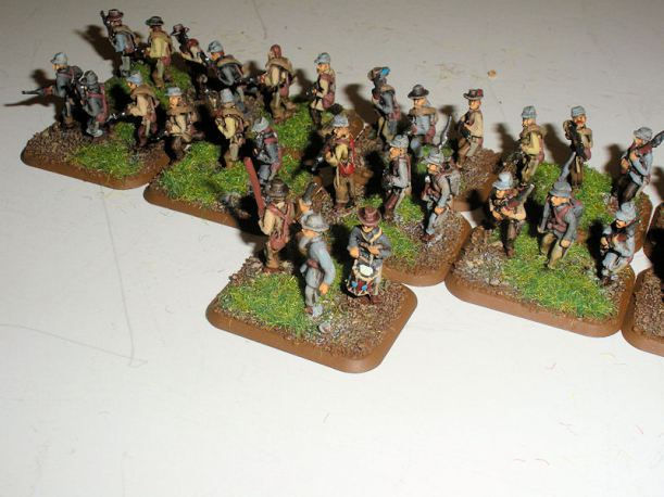 Stone Mountain Miniatures 15mm Confederate Infantry
