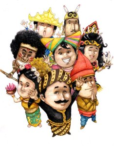 Indonesian Costume Festival