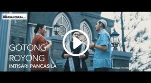 Pidato Soekarno - Gotong Royong Intisari Pancasila
