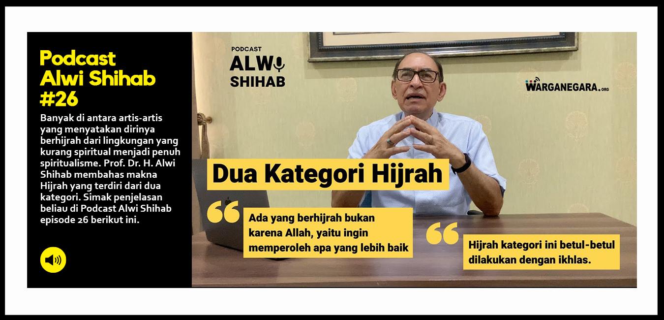 Dua Kategori Hijrah