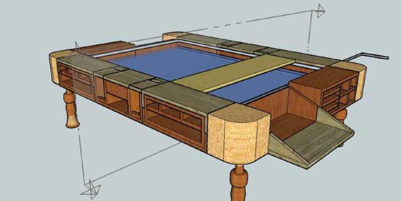 Proyecto Mesa de Juegos