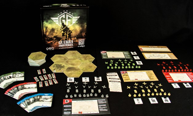 Frontier Wars the new Draco Ideas Kickstarter board game about WWII