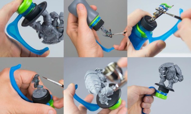 Últimas horas en Kickstarter para el Hobby Holder de Game Envy Creations