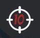 Hellboy: The board Game Carta de Agente Nivel de Amenaza