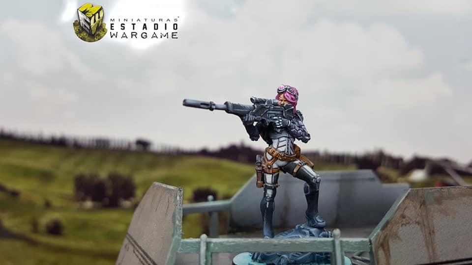 Nagas pintada por nuestros amigos de Miniaturas Estadio Wargames