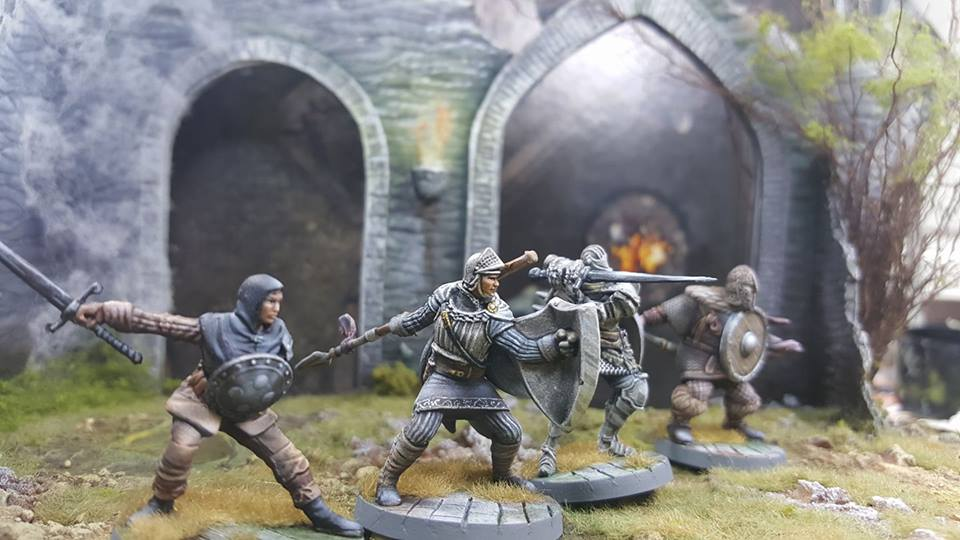 Miniaturas de Dark Souls Board Game pintadas por Miniaturas Estadio Wargame