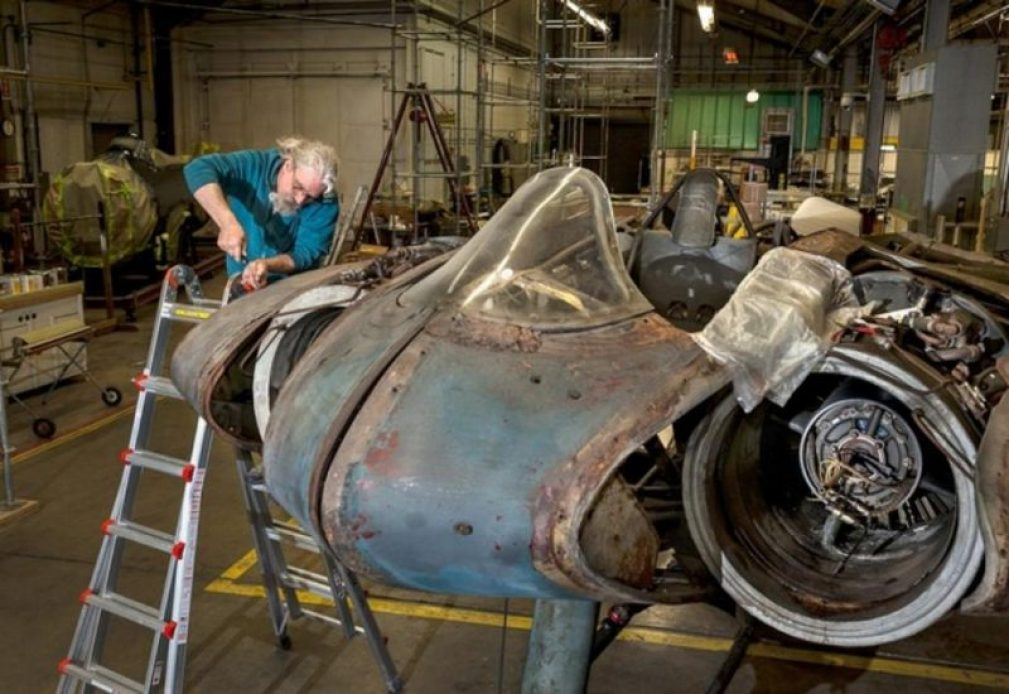 restoring-the-horten-229-v3-flying-wing-31