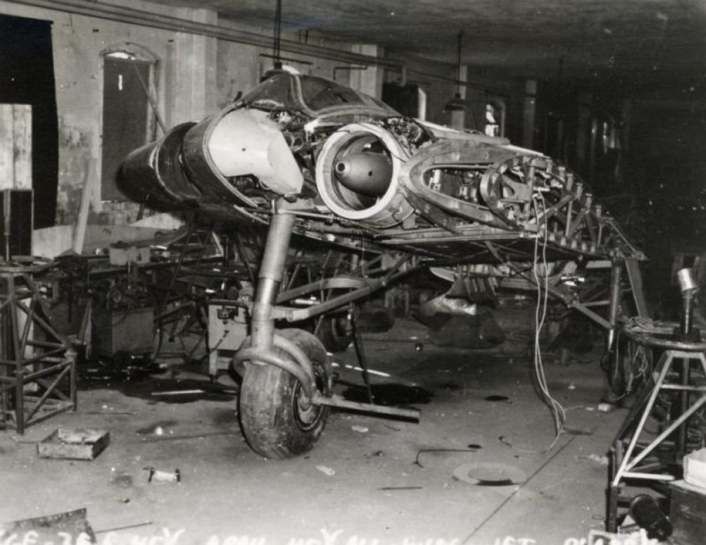 restoring-the-horten-229-v3-flying-wing-44