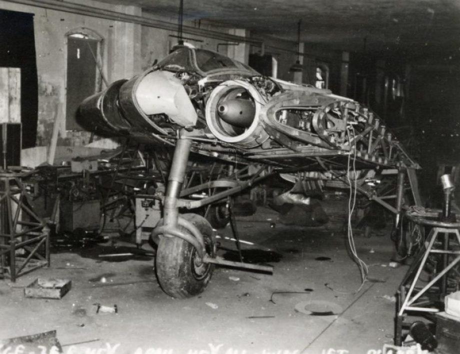 restoring-the-horten-229-v3-flying-wing-44