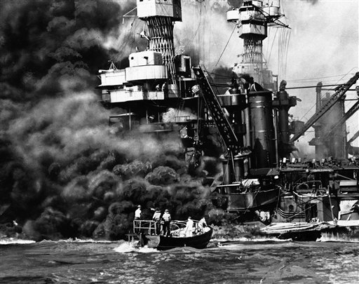 USS West Virginia at Pearl Harbor via commons.wikimedia.org