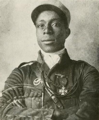 Eugene Bullard in Legionnaire Uniform via commons.wikimedia.org