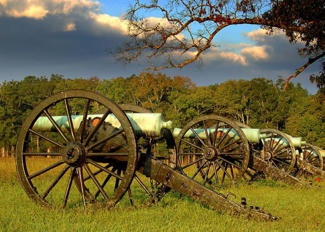 Chickamauga Battlefield today. Lhughesw5/Own Work/Wikipedia/CC BY-SA 3.0