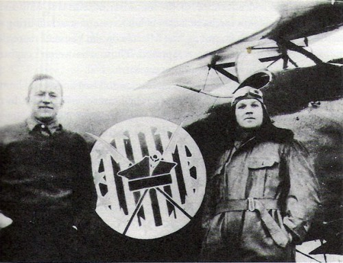American volunteers, Merian C. Cooper and Cedric Fauntleroy, fighting in the Polish Air Force (Public Domain / Wikipedia)
