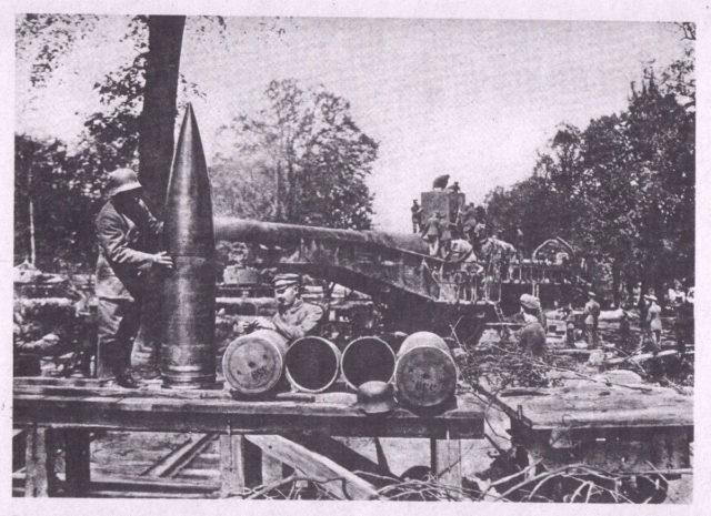 38 cm ammunition.