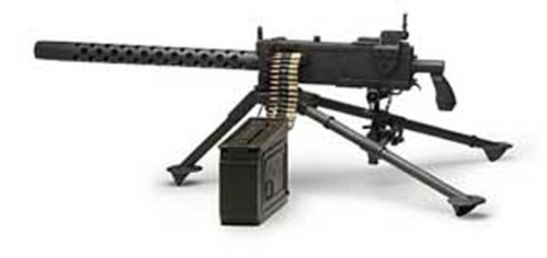 An M1919 Browning machine gun Photo Credit