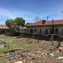 Baracken im Slum