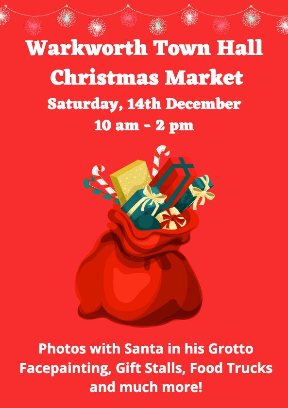 warkworthtownhall christmas market