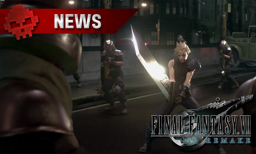 New Final Fantasy VII Remake Image Boards To Be On Display