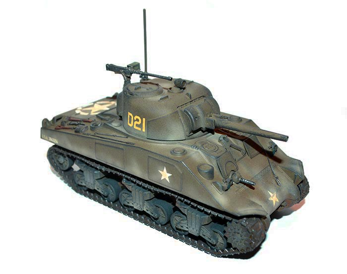 Painting Guide M4 Sherman Warlord Games