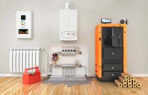 Gas, electric and biomass boilers