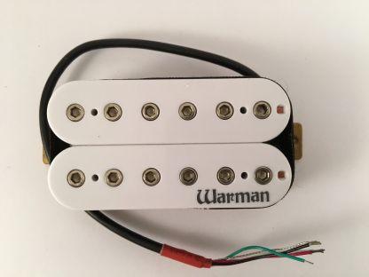 Warman Guitars Destroyer in white