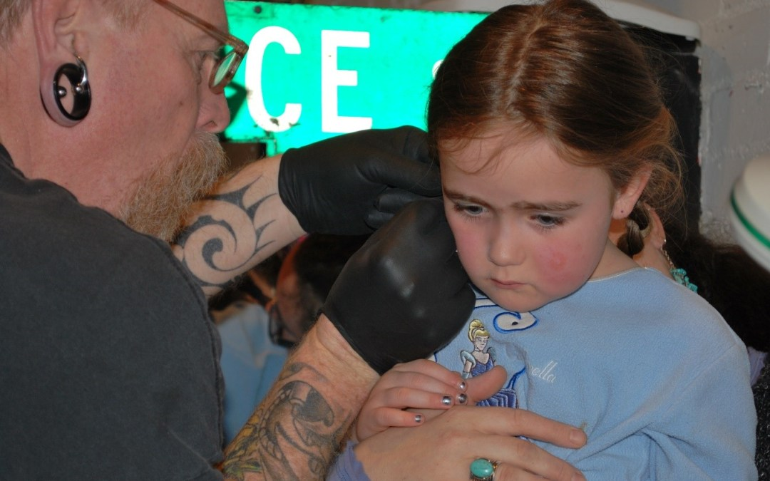 Where Is the Most Appropriate Place to Bring Your Child for Their First Ear-Piercing?