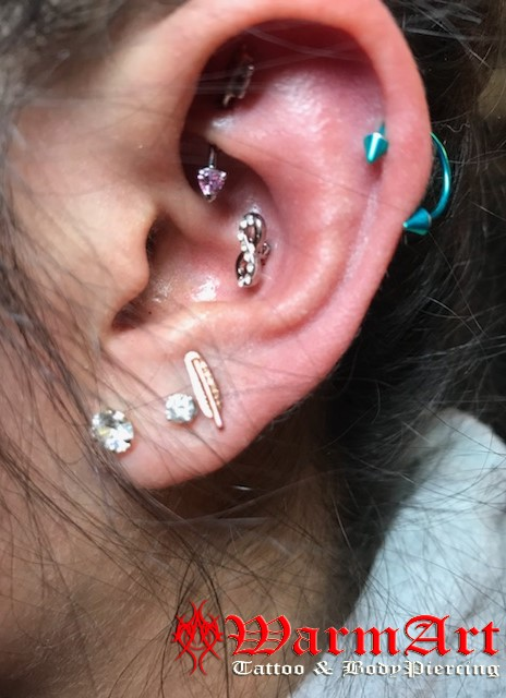Rook Helix Inner Conch Lobe Warmart Ink Tattoo And Body Piercing