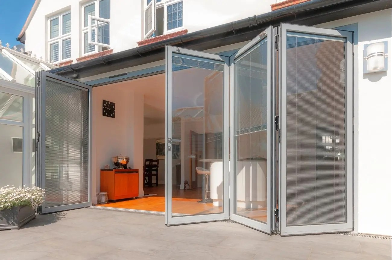 External Bifolding Door