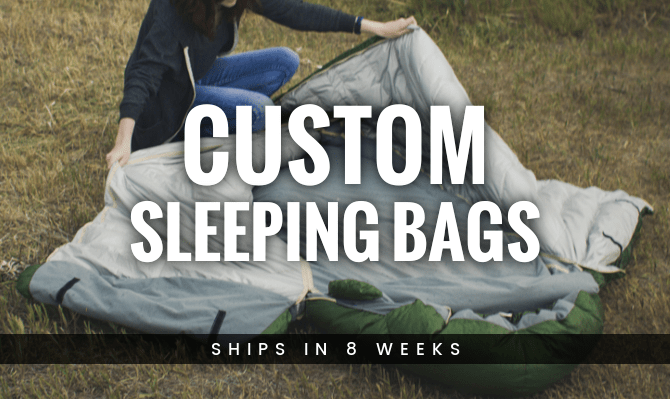 Custom Sleeping Bags from Warmlite Ship in 10 Weeks