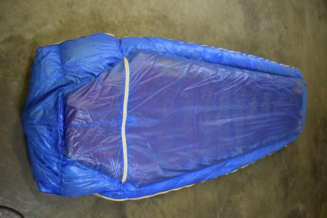 air mattress in bag