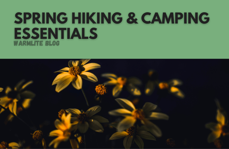 spring hiking and camping essentials