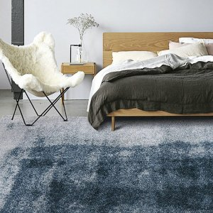 Gradient Color Floor Cover Mat Pad Modern Area Rugs